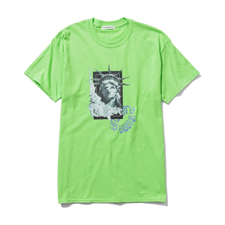Flagstuff LIBERTY S/S TEE-LIME