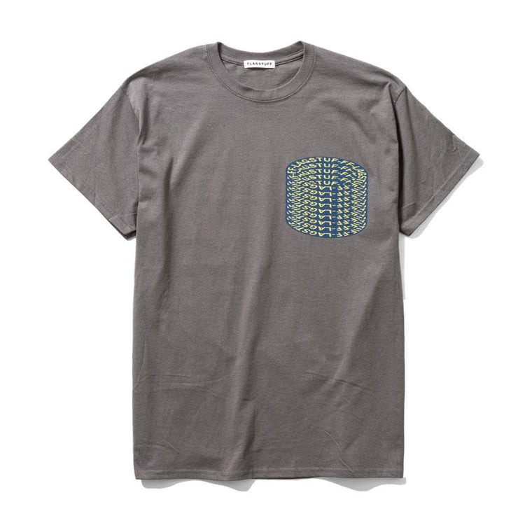 Flagstuff DOME S/S TEE-CHARCOAL