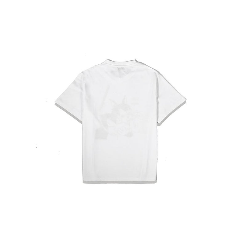 Second Layer HEPCAT S/S T-SHIRT -WHITE