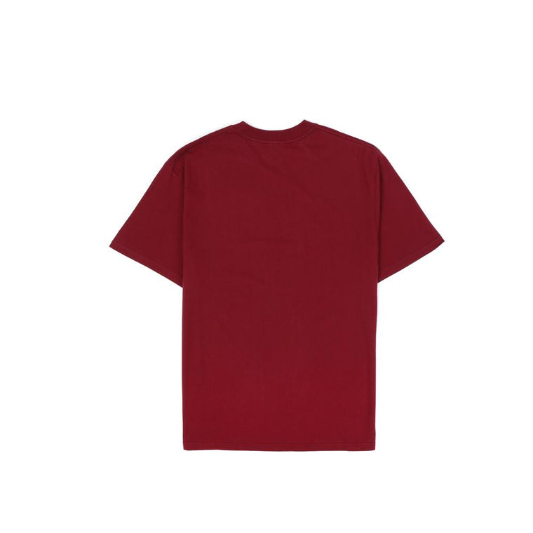 THRASHER(JAPAN) HYPNOTIZE S/S T-SHIRT -BURGUNDY