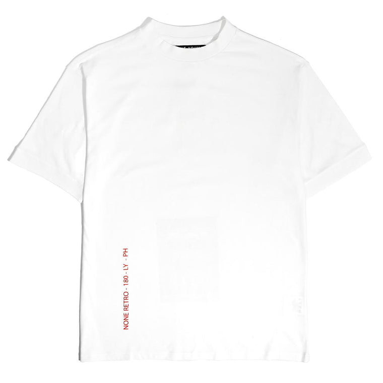 LYPH NONE T-SHIRT -WHITE