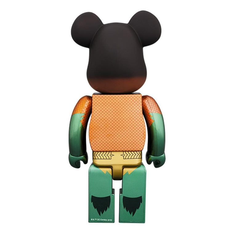 Medicom Toy BE@RBRICK 400% AQUAMAN -ORANGE