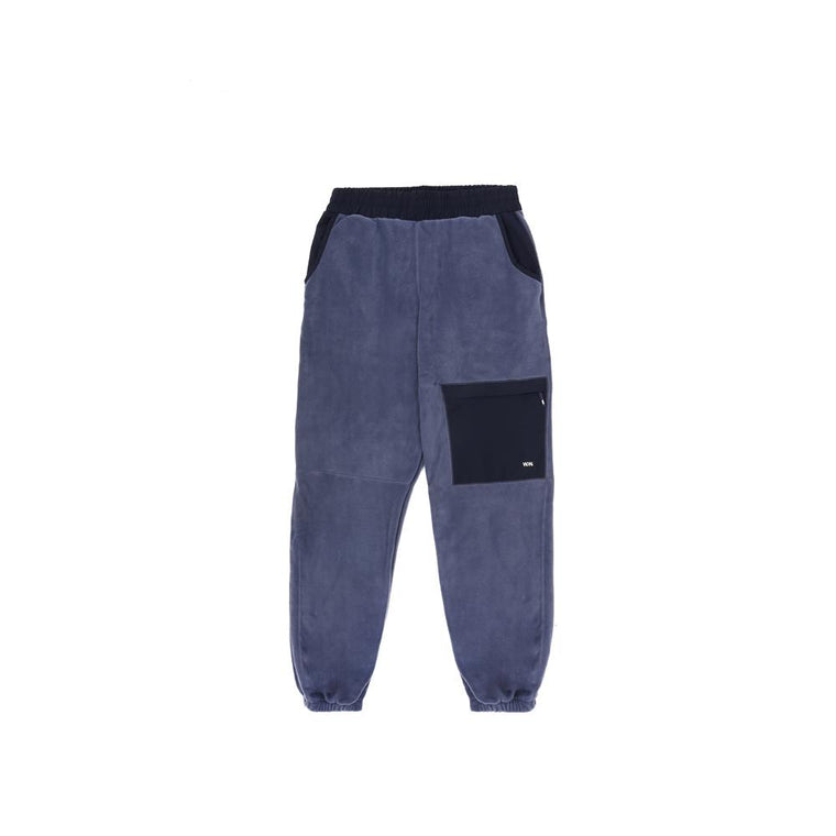 WOOD WOOD SIGURD TROUSERS -STEEL BLUE