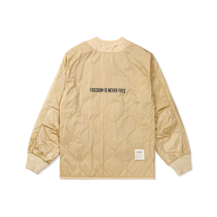 A[S]USL FREEDOM LINER JACKET-CREAM