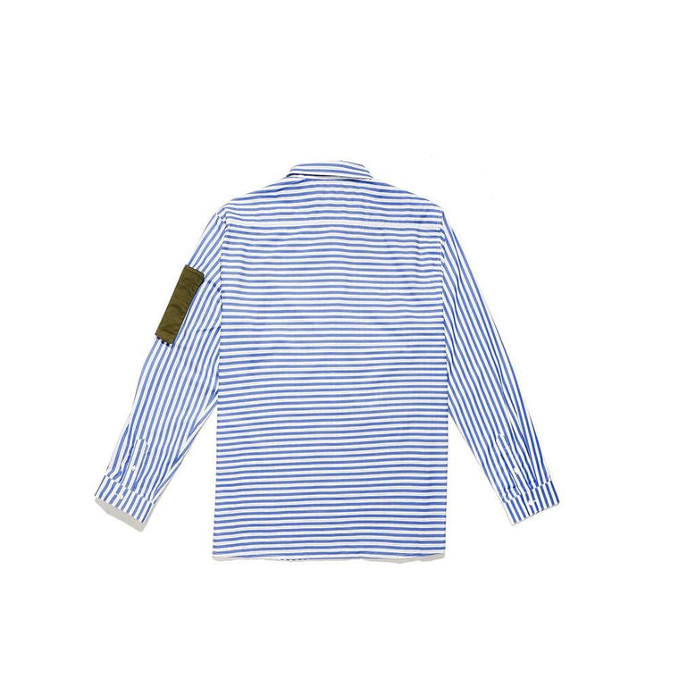 LYPH HARVARD SHIRT -BLUE/WHITE