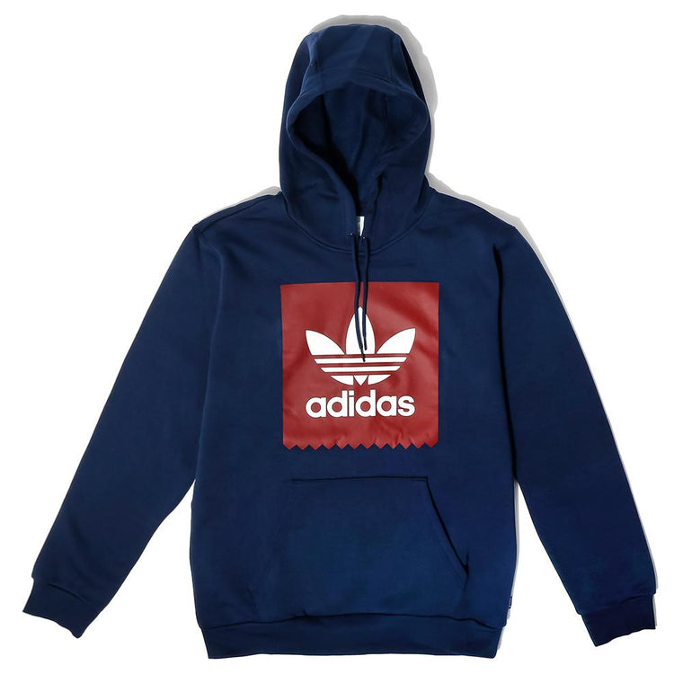 ADIDAS SKATEBOARDS SOLID BLACKBIRD HOODIE -NAVY