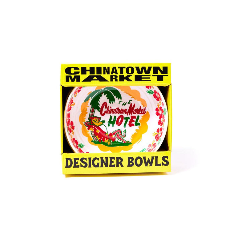CHINA TOWN MARKET HOTEL BOWL (PACK OF 4)-WHITE