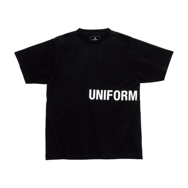 UNIFORM EXPERIMENT AUTHENTIC WIDE TEE-BLACK