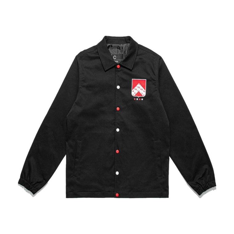 CLOT TEE BADGE COACH JACKET-BLACK