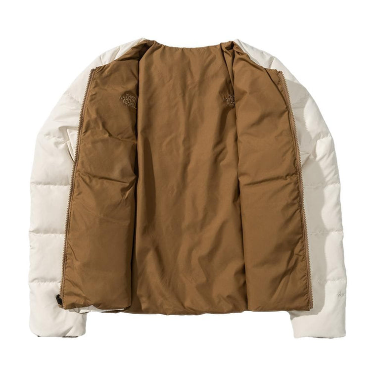 THE NORTH FACE BAEBAY RV DOWN JACKET-WHITE
