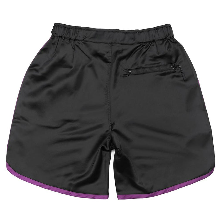 NINE POINT NINE BASKETBALL SHORT -BLACK