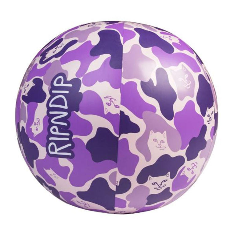 RipNDip BEACH BUM BEACH BALL -PURPLE