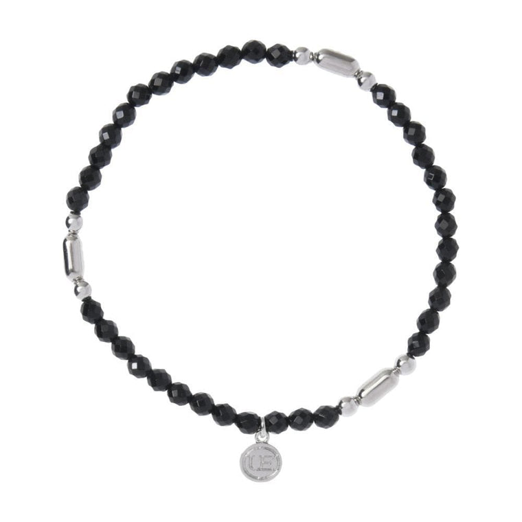 UNIFORM EXPERIMENT BEADS BRACELET-BLACK