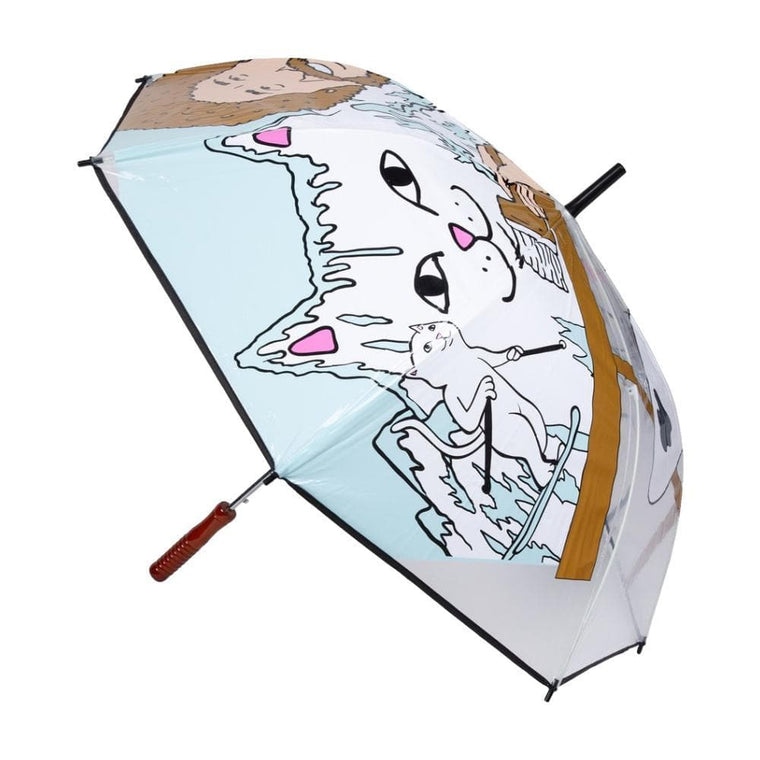 RipNDip BEAUTIFUL MOUNTAIN UMBRELLA-CLEAR