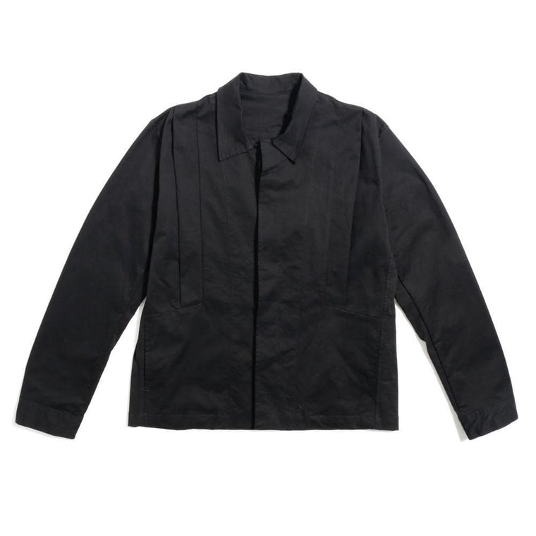 Base London Blue UTILITY JACKET -BLACK