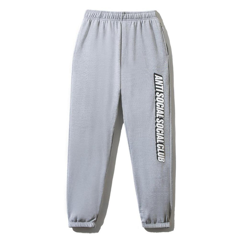 AntiSocialSocialClub BLOCKED GREY SWEATPANTS -GREY