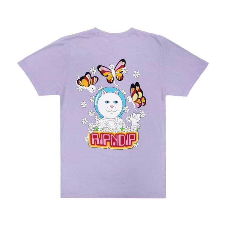 RipNDip BUTTERFLY TEE-PURPLE
