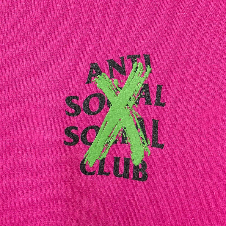 AntiSocialSocialClub CANCELLED REMIX HT PIN HO -PINK