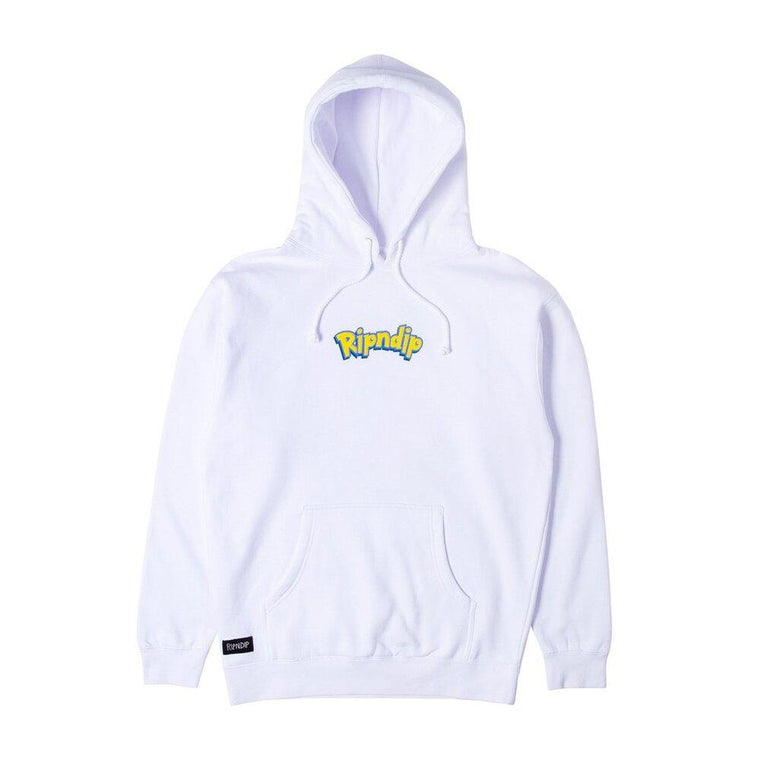 RipNDip CATCH EM ALL HOODIE -WHITE