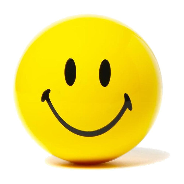 CHINA TOWN MARKET SMILEY FORTUNE TELLING BALL-YELLOW