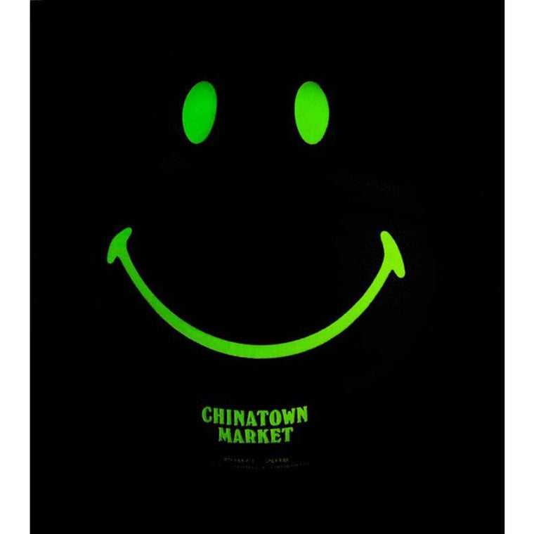 CHINA TOWN MARKET SMILEY GLOW IN THE DARK BASKETBALL-BLACK