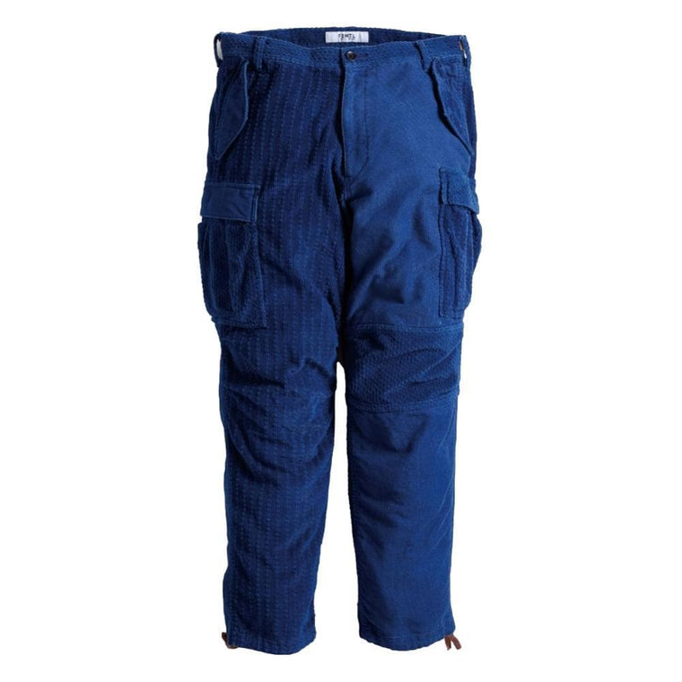 FUNDAMENTAL CORDUROY CARGO PANTS 1YR -NAVY