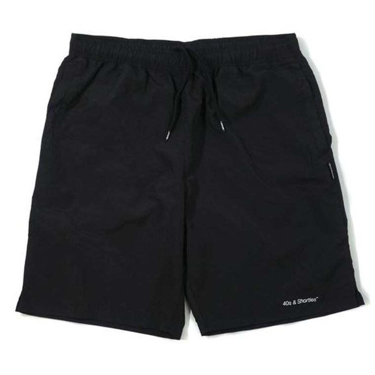 40'S AND SHORTIES CORE SHORTS -BLACK