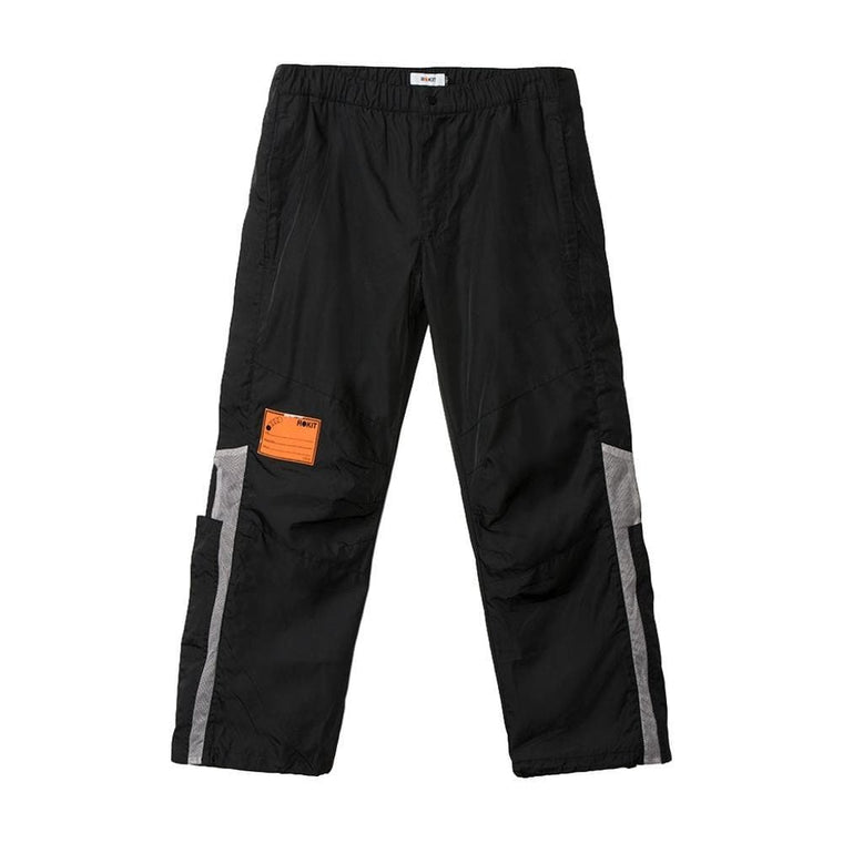 Rokit COURTSIDE SIDEZIP PANT -BLACK