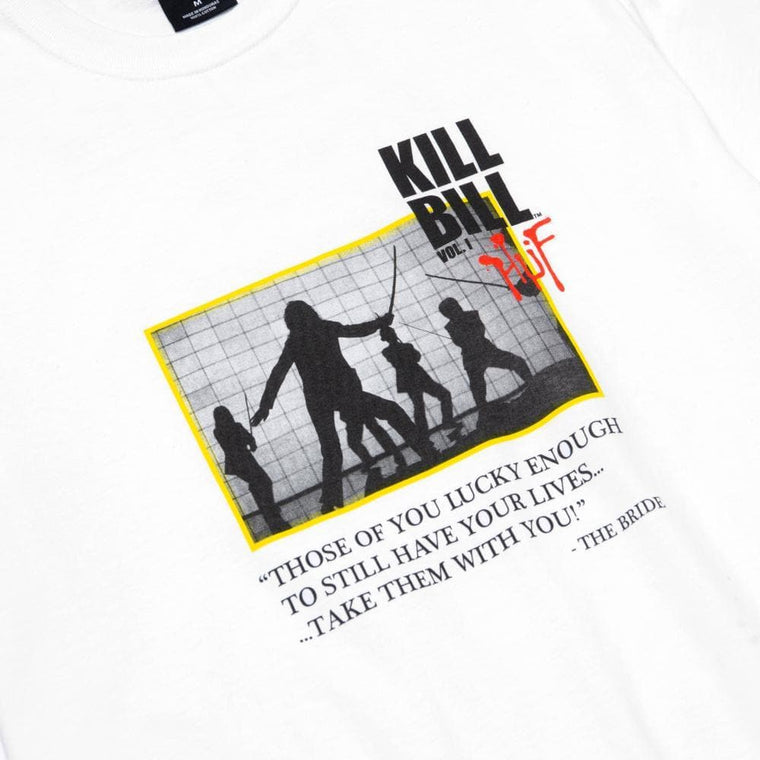 HUF DEATH LIST S/S TEE-WHITE