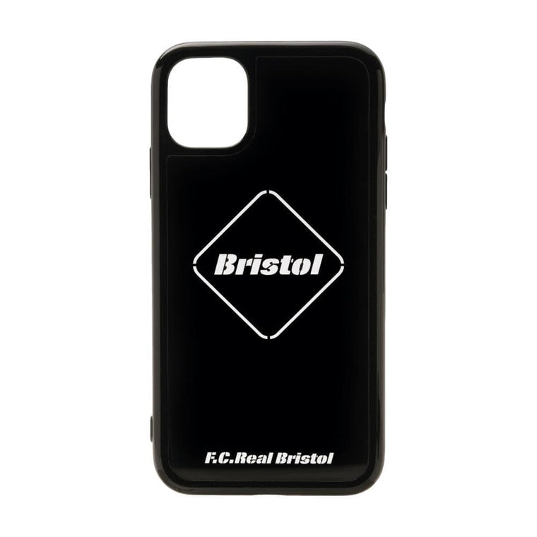 F.C.R.B EMBLEM CASE FOR IPHONE 11-BLACK