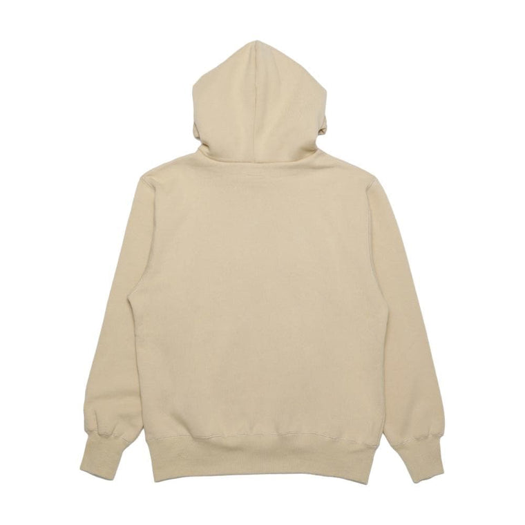 #FR2 SMOKING KILLS EMBROIDERY HOODIE-CREAM