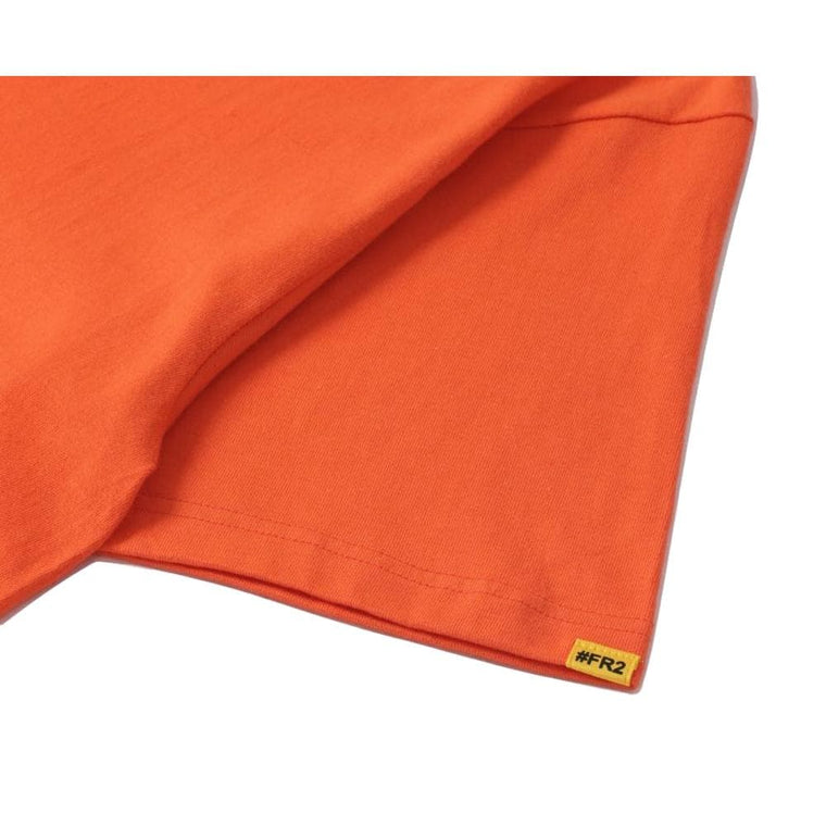 #FR2 FR2 X HUF BOX LOGO TE-ORANGE