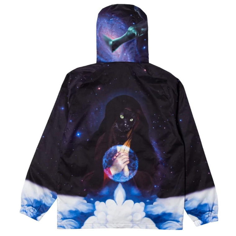 RipNDip GALAXY GYPSY ANORAK -BLACK