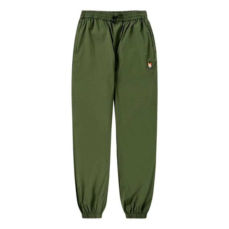 WOOD WOOD HAMPUS TROUSERS -GREEN