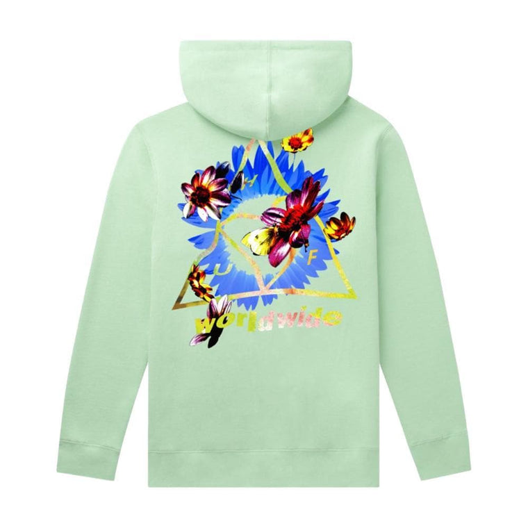 HUF COME DOWN TT P/O HOODIE-MINT