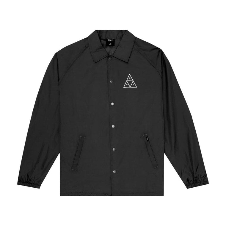 HUF ESSENTIALS TT COACHES JK-BLACK