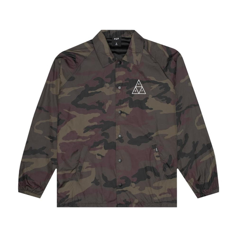 HUF ESSENTIALS TT COACHES JK-CAMO