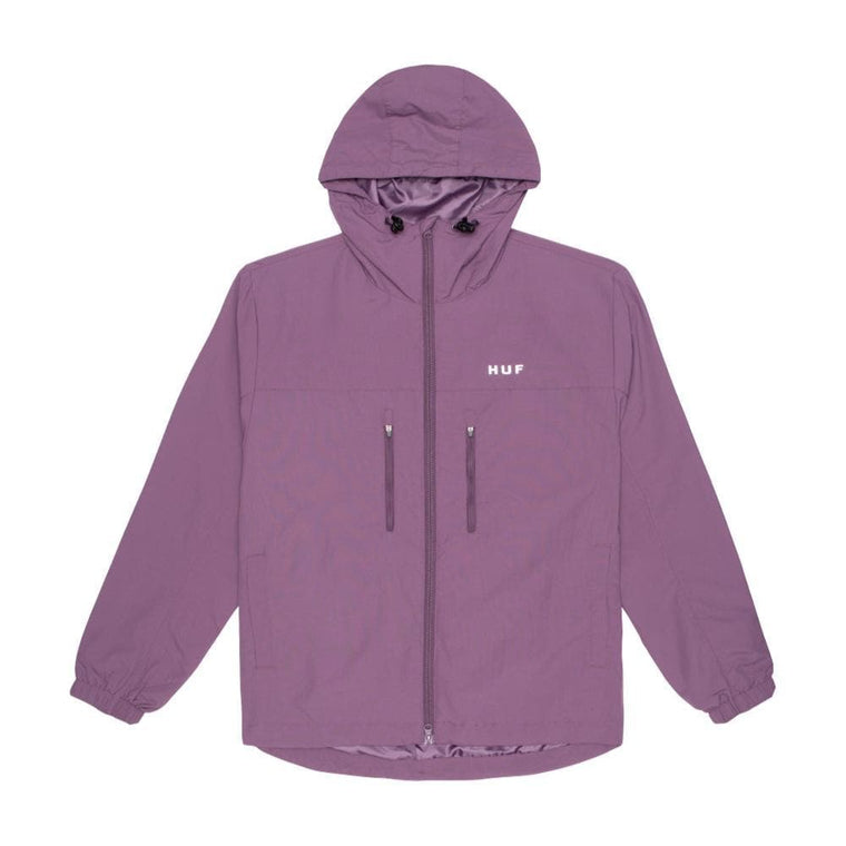 HUF ESSENTIALS ZIP STAND SHEL-PURPLE