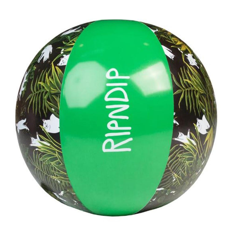 RipNDip JUNGLE NERM BEACH BALL -GREEN