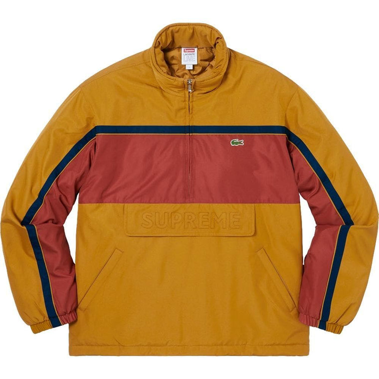 SUPREME LACOS PUFFY HALF ZIP PULL -GOLD