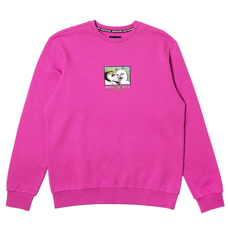 RipNDip LADY FRIEND CREWNECK -PINK