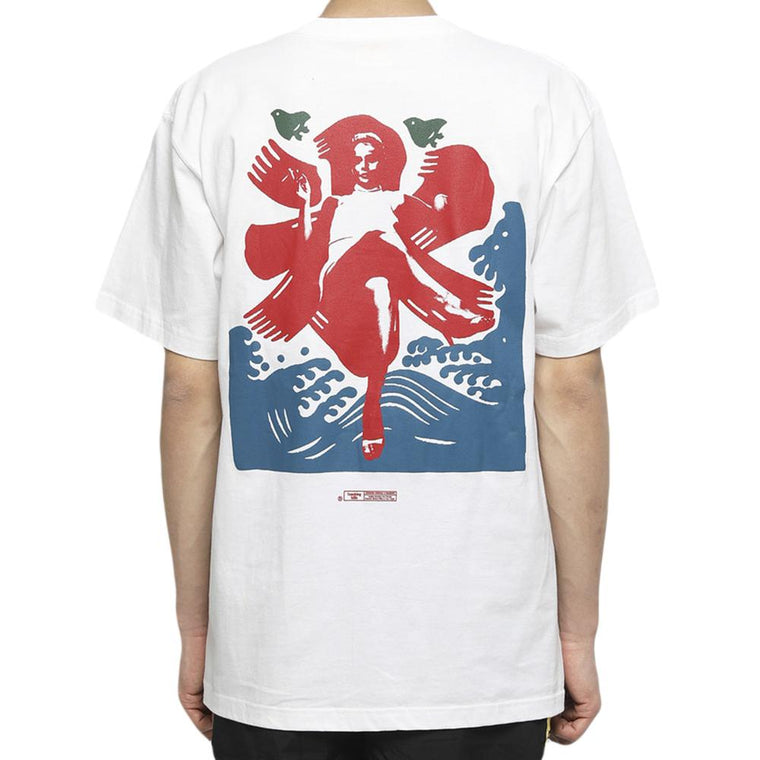 FUCKING RABBIT LEGS ICE TEE -WHITE