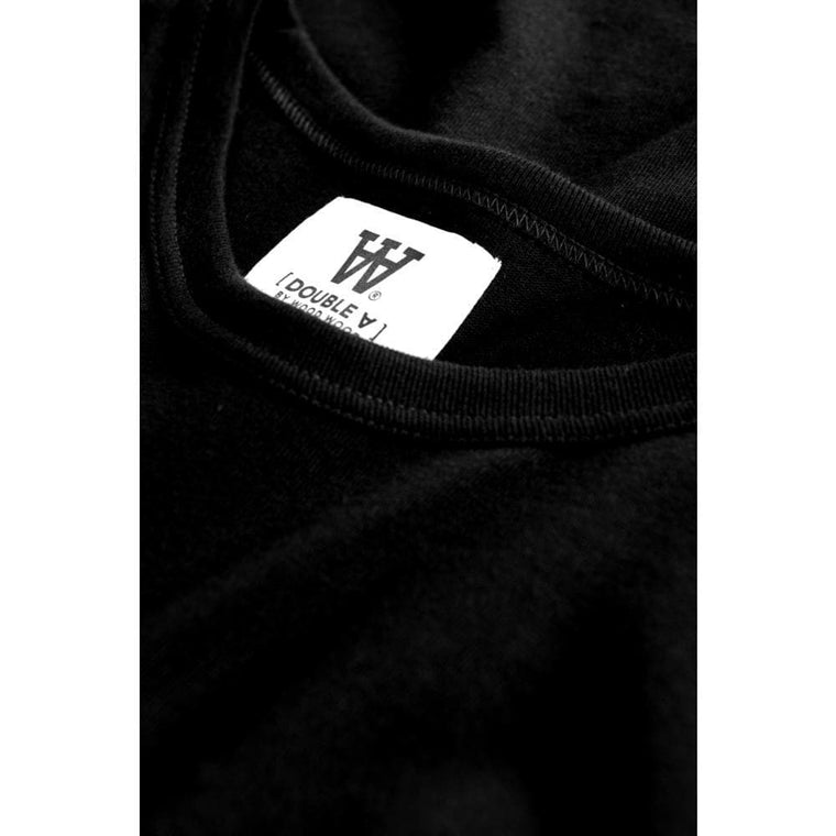 WOOD WOOD MEL LONG SLEEVE -BLACK