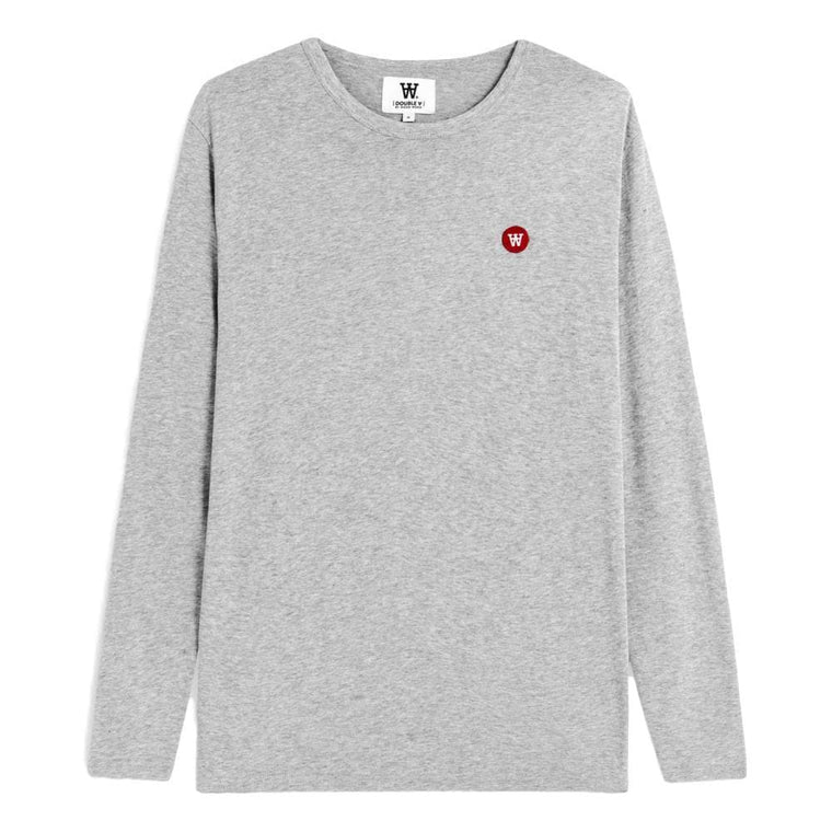WOOD WOOD MEL LONG SLEEVE -GREY