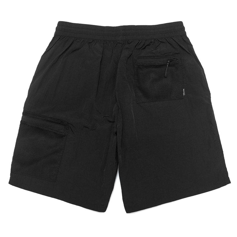 NINE POINT NINE MESH POCKET SHORT -BLACK