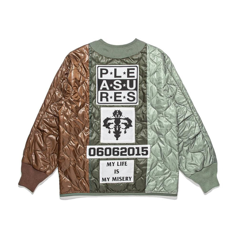 PLEASURES MISERY JACKET-GREEN