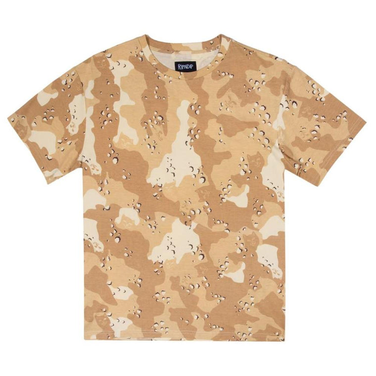 RipNDip NERM CAMO ALL OVER TEE -CAMO