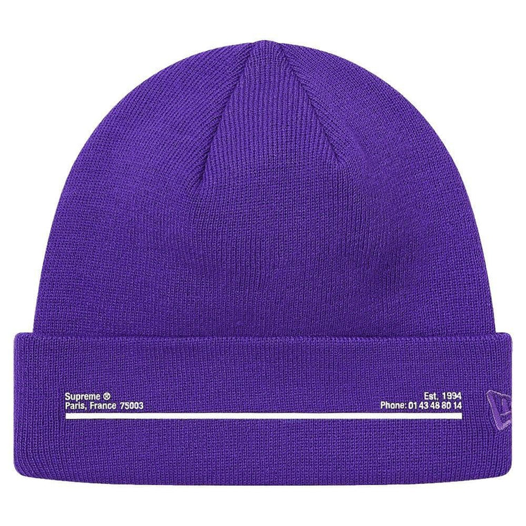 SUPREME NEW ERA SHOP BN LOS ANGEL-PURPLE