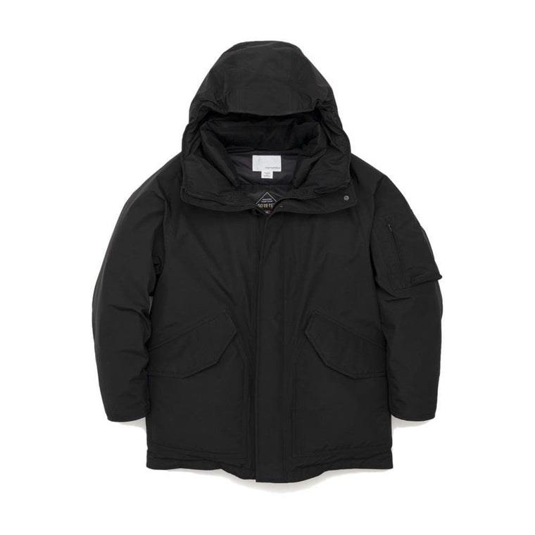 Nanamica GORE-TEX DOWN COAT-BLACK