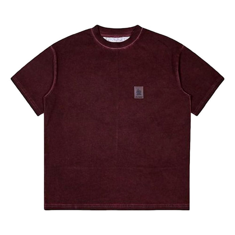 OAKLEY OVERDYED LOGO TEE -RED